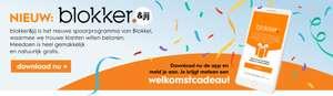 Download de blokker app en krijg gratis welkoms cadeau