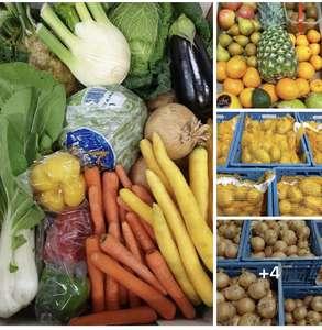 Groente Productie Flevoland Dronten groente of fruitbox 8,5 kilo voor 9,99 euro
