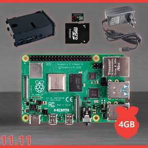 Verschillende raspberry pi kits