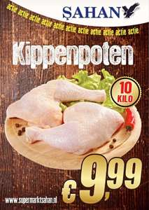 [Lokaal Rotterdam] 10 kg kippenbouten voor €9,99 @Sahan supermarkten