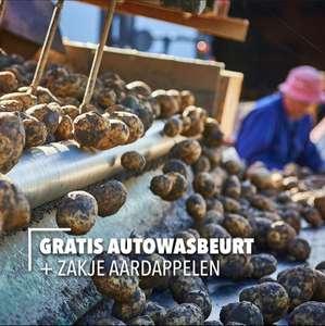 Gratis Autowasbeurt + Zakje Aardappelen in Den Ham en Vriezenveen