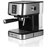 Luxe espressomachine met melkschuimer en tempregelaar. ( DAGDEAL )