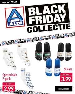 Deel Aldi fancollectie komt terug met Black Friday