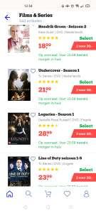 Veel DvD's series en films 2 voor €30