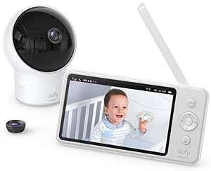 """Eufy (van Anker) babyfoon met camera, geluid en 5"""" HD display voor €119,99 @ Amazon NL"""