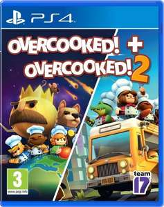 Overcooked + Overcooked 2 Double Pack PS4