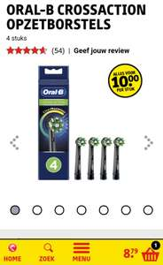 Black Friday Deal: ORAL-B CROSSACTION Opzetborstels - Kruidvat - 4 voor 10 ipv 25,99