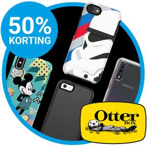50% korting op alle Otterbox Symmetry hoesjes