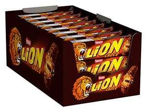 Nestlé LION snoepreep met karamel, 24-pack (24 x 42 g)