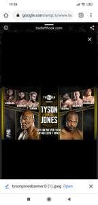 Gratis kijken bij AD: Mike tyson vs Roy jones jr