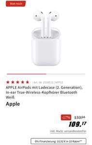 [Grensdeal DE ] AirPods 2 €99 bij mediamarkt