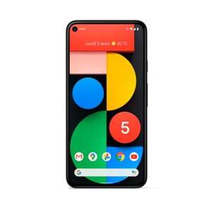 Google Pixel 5 Simply Black Smartphone 128GB 5G