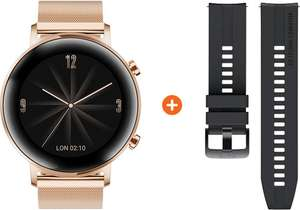 Huawei Watch GT 2 RVS Rose goud 42mm