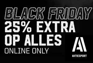 Tot 70% korting + 25% EXTRA korting (online only) @ Aktiesport