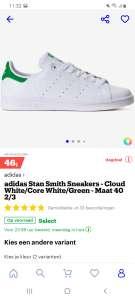 Adidas stan smith voor volwassenen