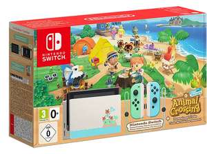 Nintendo Switch Console - Animal Crossing New Horizons Limited Edition