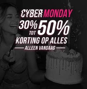 Cyber Monday: 30% tot 50% korting op alles @Hunkemöller!