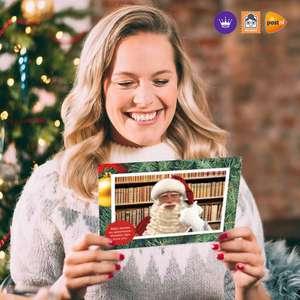 Stuur een foto kerstkaart voor 0,01 via Hallmark