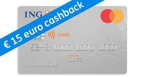 ING Creditcard met €15 cadeau