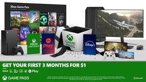 3 maanden Game Pass Ultimate voor €1 (nieuwe leden)