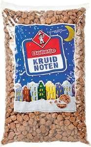Die Grenze: 5 kilo Bolletje bakkerskruidnoten €3,99 en 2 zakken Bolletje chocolade kruidnoten voor €1
