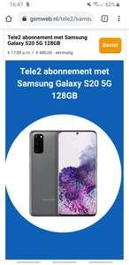 Samsung Galaxy S20 5G i.c.m. een abonnement