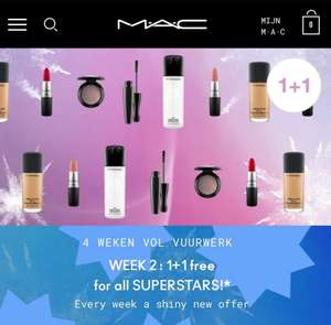 MAC Cosmetics - superstars 1+1