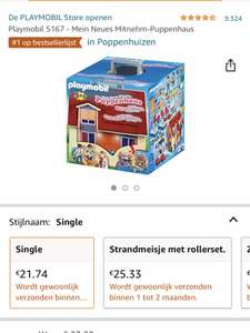 Playmobil meeneem poppenhuis 5167