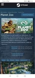 Planet zoo 50% korting
