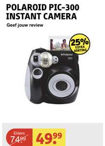 Polaroid PIC-300 Instant Camera @Kruidvat