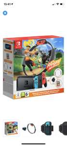 Nintendo Switch met Ring fit adventure