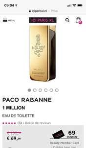 PACO RABANNE 1 MILLION EAU DE TOILETTE 200 ml