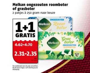 Melkan Roomboter 1+1 gratis @ Poiesz