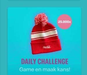 16 december McDonald's app: Gratis Coca Cola Beanie (muts)