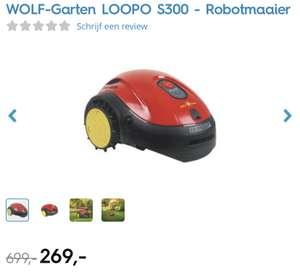 WOLF-Garten LOOPO S300 - Robotgrasmaaier