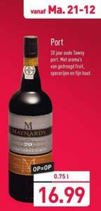 [Aldi] Maynard's 20jr oude tawny port