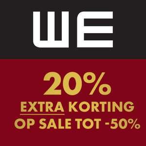 SALE + 20% extra + €10 extra met code