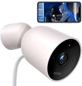 Nooie Bewakingscamera voor buiten, wifi, IP-camera, 1080p, outdoor, IP66 waterdicht