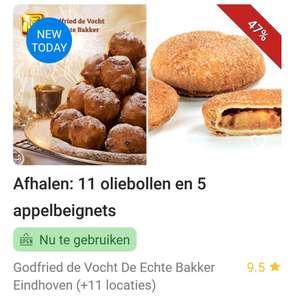 (LOKAAL) 11 oliebollen + 5 appelbeignets bij Godfried de Vocht regio