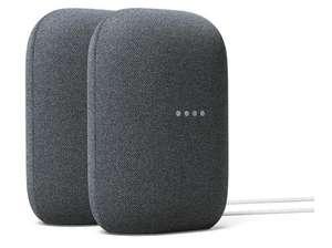 Google Nest Audio duo pack voor €109,99 @ Media Markt