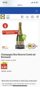 Champagne Brut Reserve Comte de Brismand (Lidl)