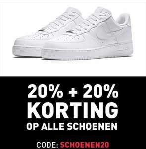 Intersport 20%+20% extra korting op alle schoenen