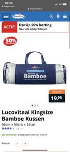 Lucovitaal bamboe hoofdkussen (gratis verzending naar filiaal of vanaf €50)
