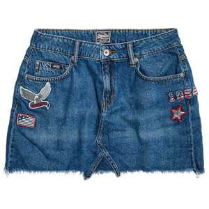 Freya jeans minirok @ Superdry