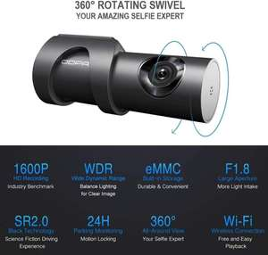 DDPAI Mini 3 Dashcam met 1600P