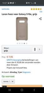 Samsung Galaxy S10e hoesje