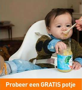 Gratis potje NaturNes Bio babyvoeding