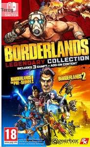 Borderlands Legendary Collection (Nintendo Switch, cartridge game)