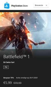 Battlefield 1 PS4 Digitaal