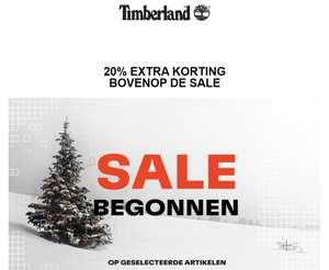 SALE tot -60% + 20% extra [code] @ Timberland